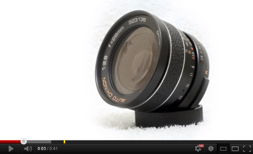 REVIEW: Auto Chinon 28mm F2.8