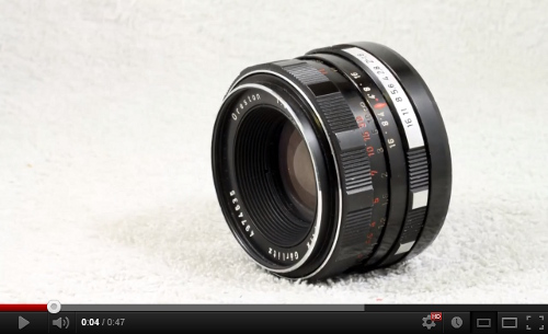 Meyer-Optik G�rlitz Oreston 50mm