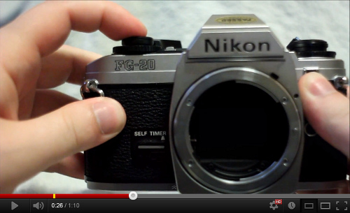 REVIEW Nikon FG20