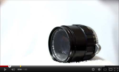 Homemade Toy Lens