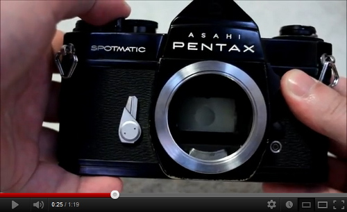 Pentax Spotmatic Mirror